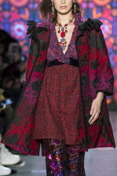 Anna Sui at New York Fall 2018 (Details)