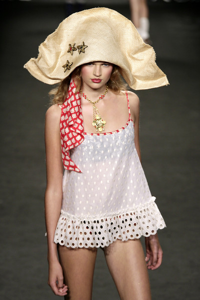 Anna Sui at New York Spring 2007