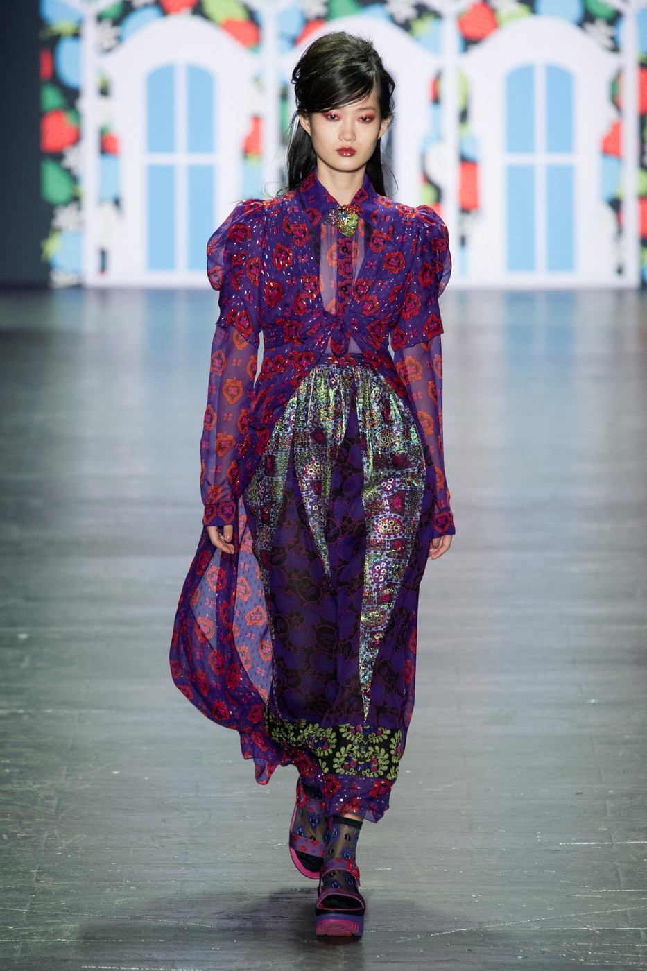 Anna Sui Fall 2018 Ready-to-Wear Collection - Vogue 12