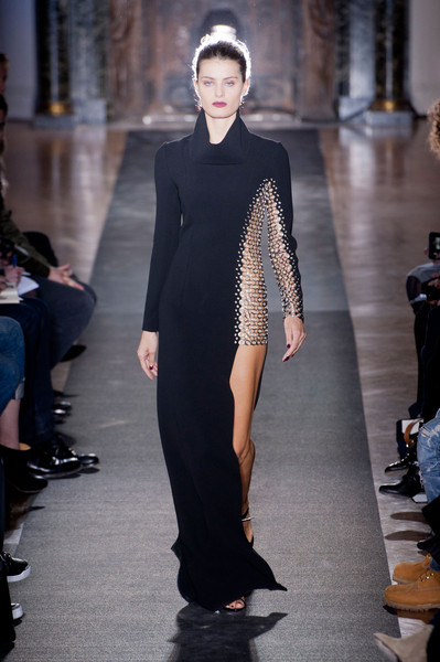 Anthony Vaccarello at Paris Fall 2013
