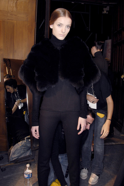 Antonio Berardi at Paris Fall 2007 (Backstage)