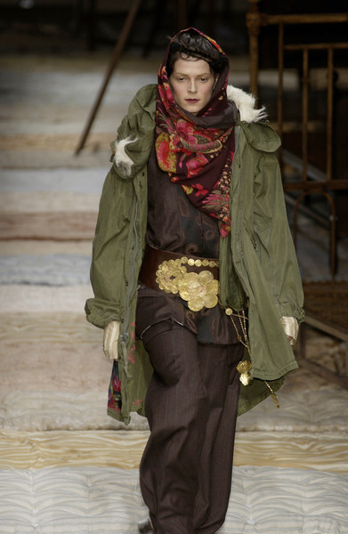 Antonio Marras at Milan Fall 2002