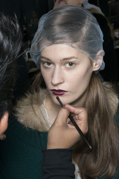 Antonio Marras at Milan Fall 2013 (Backstage)