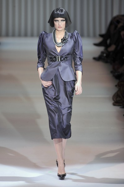 Armani Privé at Couture Spring 2009