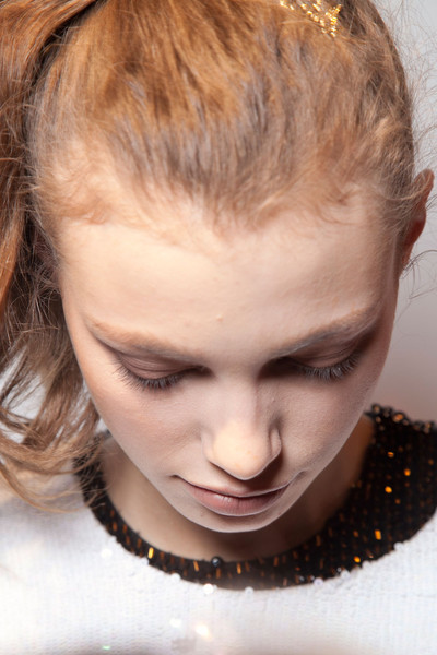 Ashishi at London Fall 2012 (Backstage)