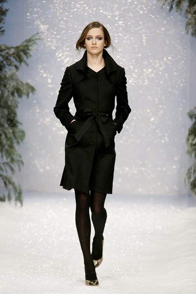 Ashley Isham at London Fall 2007
