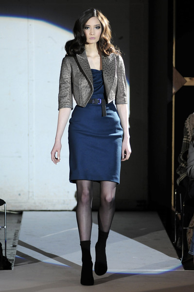 Ashley Isham at London Fall 2008