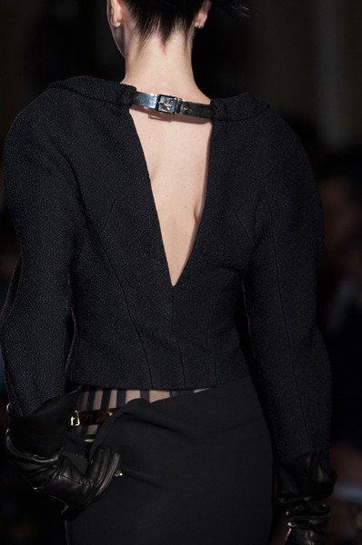 Atelier Versace at Couture Fall 2014 (Details) [clothing,black,fashion,outerwear,beauty,neck,dress,haute couture,sleeve,formal wear,supermodel,couture fall,haute couture,fashion,runway,fashion week,atelier versace,model,clothing,fashion show,fashion show,runway,milan fashion week,fashion,model,haute couture,supermodel,versace,fashion week]