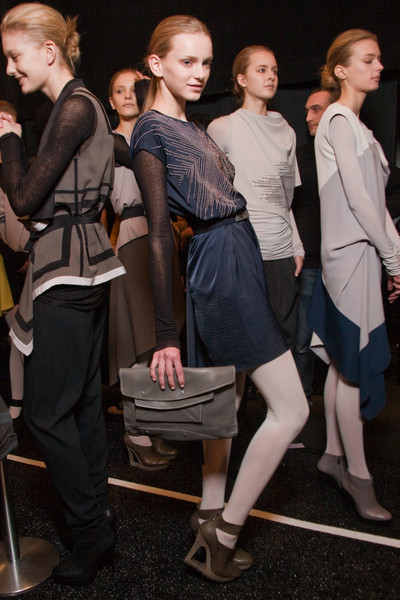 BCBG Max Azria at New York Fall 2010 (Backstage)