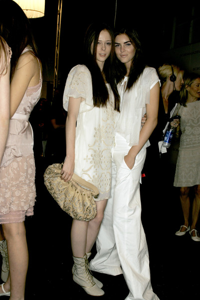 BCBG Max Azria at New York Spring 2007 (Backstage)