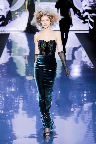 Badgley Mischka at New York Fall 2012