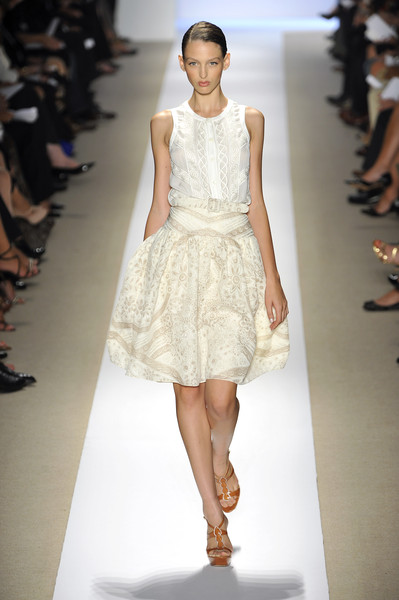 Badgley Mischka at New York Spring 2009