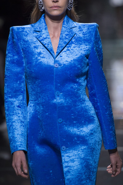 Balenciaga at Paris Spring 2019 (Details) [cobalt blue,fashion,blue,electric blue,fashion show,fashion model,clothing,runway,haute couture,suit,fashion,runway,haute couture,shoulder pads,fashion week,model,jacket,balenciaga,paris fashion week,fashion show,shoulder pads,runway,fashion,fashion show,fashion week,model,haute couture,jacket,fashion accessory,ready-to-wear]