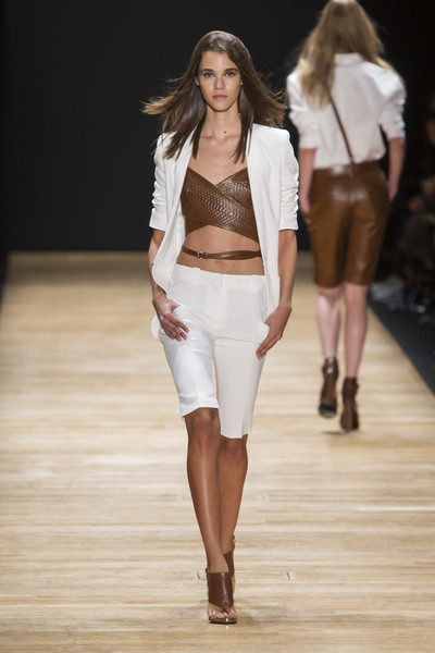 Barbara Bui at Paris Spring 2016 [fashion show,fashion model,fashion,runway,clothing,white,public event,event,long hair,fashion design,barbara bui,runway,fashion,clothing,fashion week,spring,model,paris fashion week,event,fashion show,runway,fashion show,fashion week,fashion,model,paris fashion week,clothing,spring,ready-to-wear,barbara bui]
