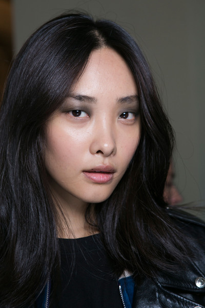 Barbara Bui at Paris Spring 2016 (Backstage) [make-up artist,image,hair,face,eyebrow,hairstyle,lip,black hair,beauty,chin,long hair,cheek,actor,barbara bui,conor leslie,beauty,hair,fashion,industry,paris fashion week,conor leslie,beauty,beauty parlour,fashion,make-up artist,cosmetic industry,actor,image]