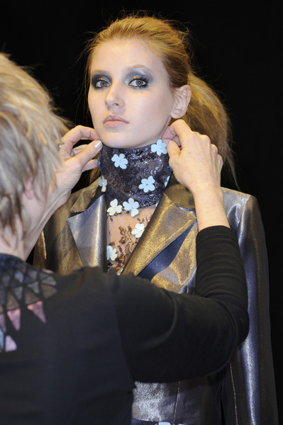 Ben de Lisi at London Fall 2008 (Backstage)