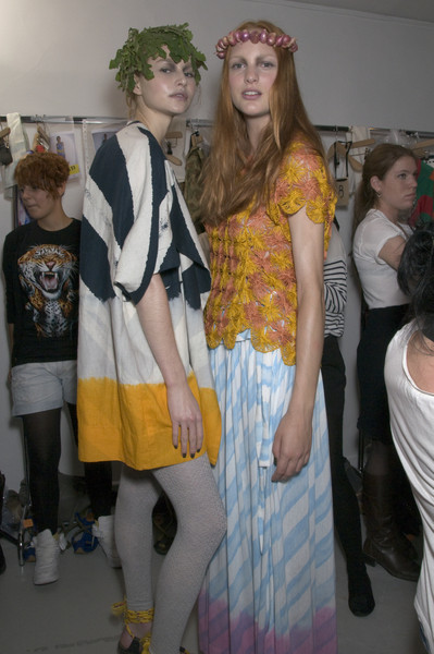 Bernhard Willhelm at Paris Spring 2010 (Backstage)