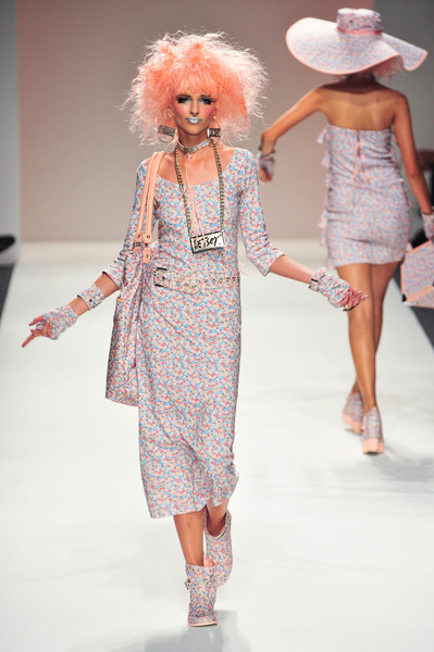 Betsey Johnson at New York Spring 2014