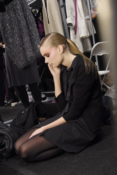 Bill Blass at New York Fall 2008 (Backstage)