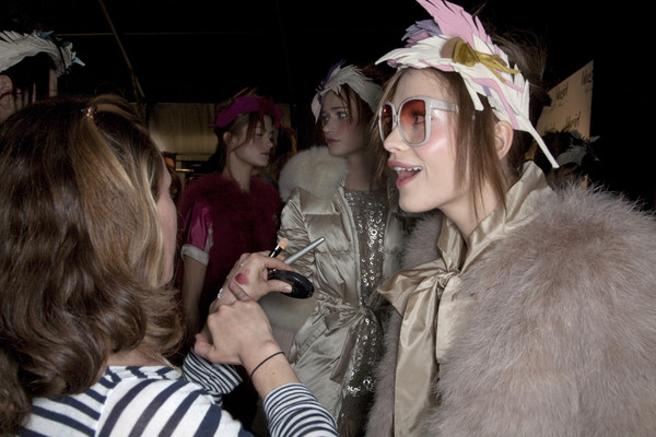 Blugirl at Milan Fall 2009 (Backstage)