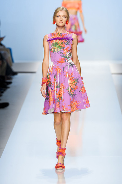 Blumarine at Milan Spring 2012