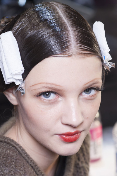 Bora Aksu at London Fall 2013 (Backstage)