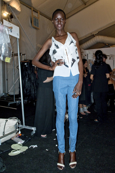 Brian Reyes at New York Spring 2010 (Backstage)
