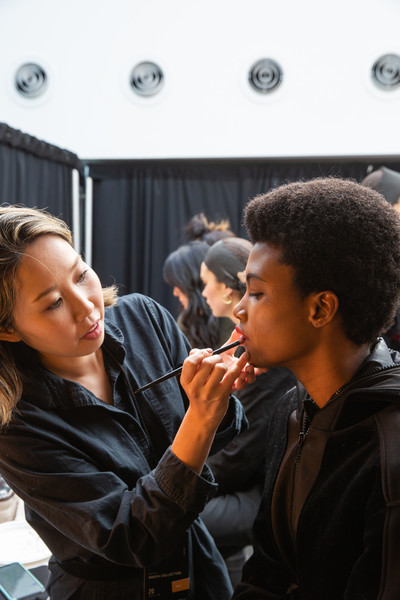 Brock Collection at New York Fall 2020 (Backstage)