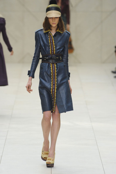 Burberry Prorsum at London Spring 2012