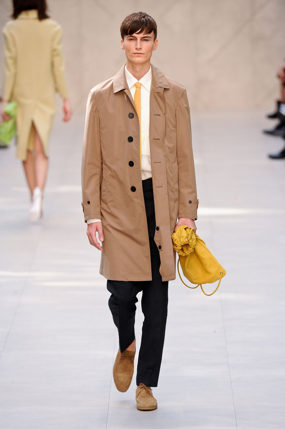 Burberry Prorsum At London Fashion Week Spring 2014 Livingly