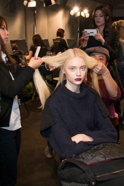Byblos at Milan Fall 2013 (Backstage)