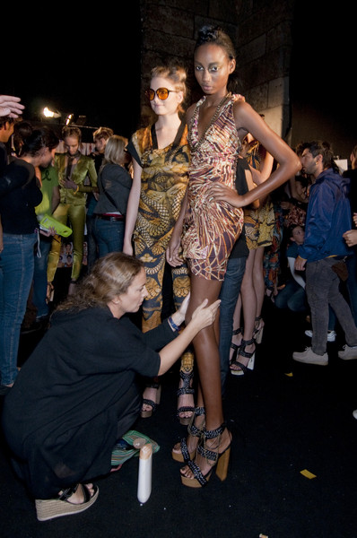 Byblos at Milan Spring 2011 (Backstage)