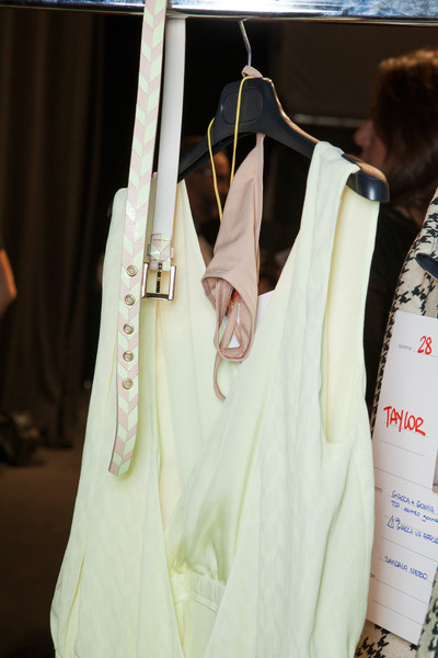 Byblos at Milan Spring 2013 (Backstage)