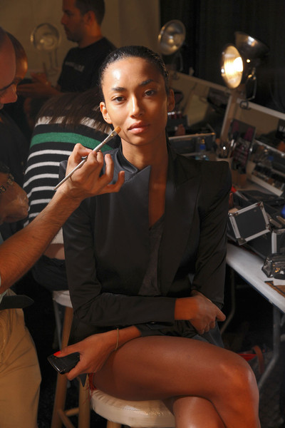 Carlos Miele at New York Spring 2012 (Backstage)