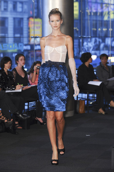 Carmen Marc Valvo at New York Spring 2011