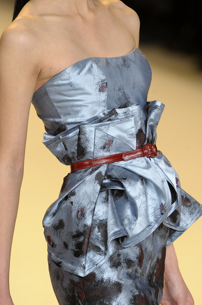 Carolina Herrera at New York Fall 2010 (Details)