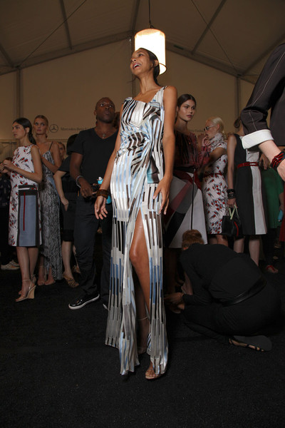 Carolina Herrera at New York Spring 2012 (Backstage)
