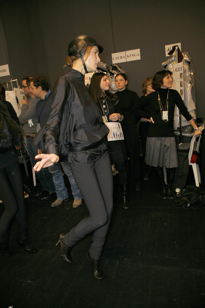 Céline at Paris Fall 2008 (Backstage)