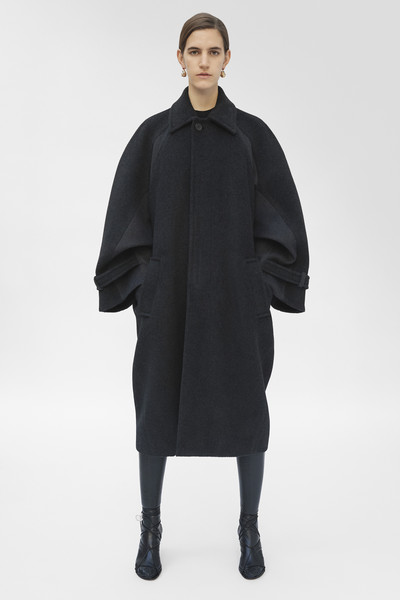 Céline at Paris Fall 2018 [clothing,outerwear,overcoat,fashion,sleeve,neck,coat,mantle,collar,costume,celine,phoebe philo,fashion,clothing,sleeve,neck,coat,mantle,paris fashion week,fashion show,phoebe philo,celine,paris fashion week,fashion,ready-to-wear,fashion show,clothing,matchesfashion]