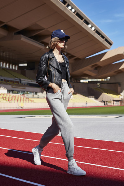 Céline at Paris Spring 2021 [sport venue,footwear,stadium,shoe,jacket,outerwear,recreation,photography,running,competition event,fashion accessory,shoe,outerwear,celine,fashion,spring,clothing,jacket,paris fashion week,fashion show,celine,fashion,fashion show,ready-to-wear,spring,fashion accessory,paris fashion week,clothing,summer]