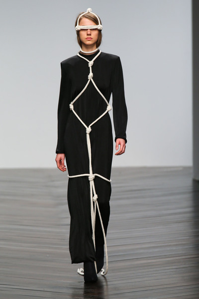 Central Saint Martins MA - Eilish Macintosh at London Fall 2013