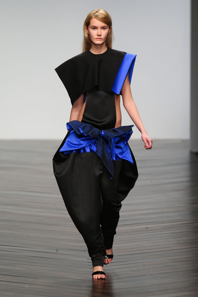 Central Saint Martins MA - Rachel Hewitt at London Fall 2013