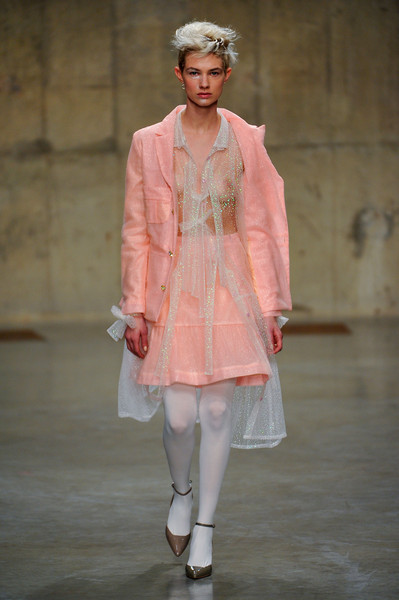 Central Saint Martins MA - Ryan Lo at London Fall 2013