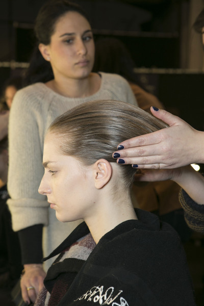 Chado Ralph Rucci at New York Fall 2013 (Backstage)