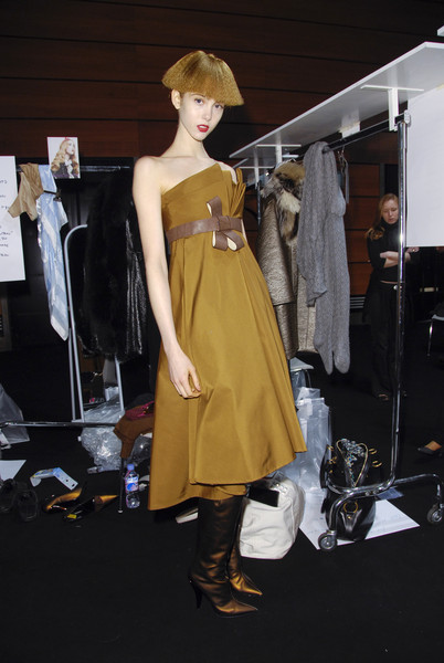 Chapurin at Paris Fall 2008 (Backstage)