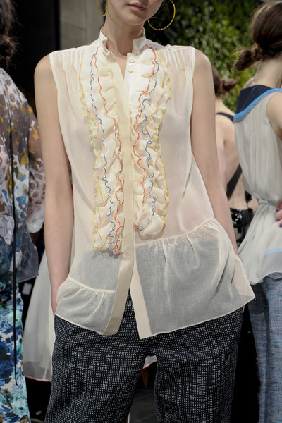 Chris Benz at New York Spring 2011 (Details)