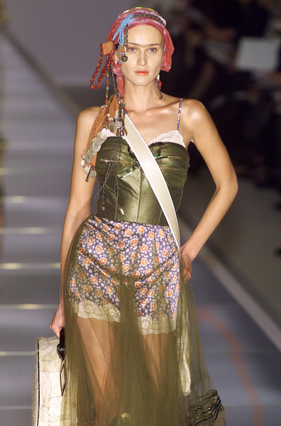 Christian Dior at Paris Fall 2001