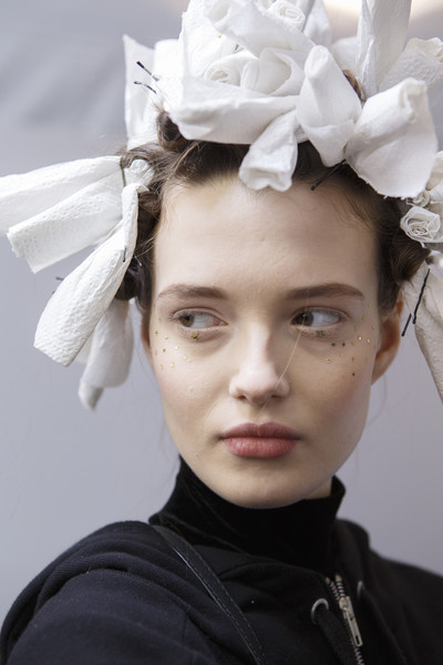Christian Dior at Couture Spring 2017 (Backstage)
