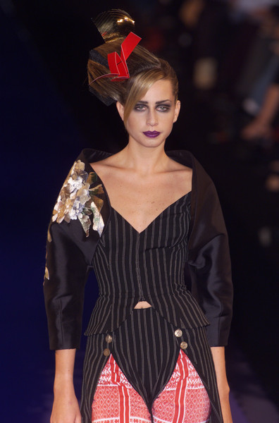 Christian Lacroix at Couture Spring 2001 [couture spring 2001,fashion model,fashion,fashion show,clothing,runway,beauty,fashion design,hairstyle,lip,haute couture,christian lacroix,supermodel,runway,fashion,haute couture,spring,model,fashion week,fashion show,runway,fashion show,haute couture,paris fashion week,fashion,spring,spring 2001,model,supermodel,fashion week]