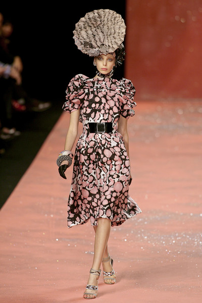 Christian Lacroix at Paris Spring 2008